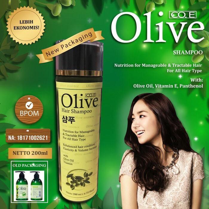 Promo Shampoo Olive   Olive Hair Shampoo Korea BPOM Original Limited