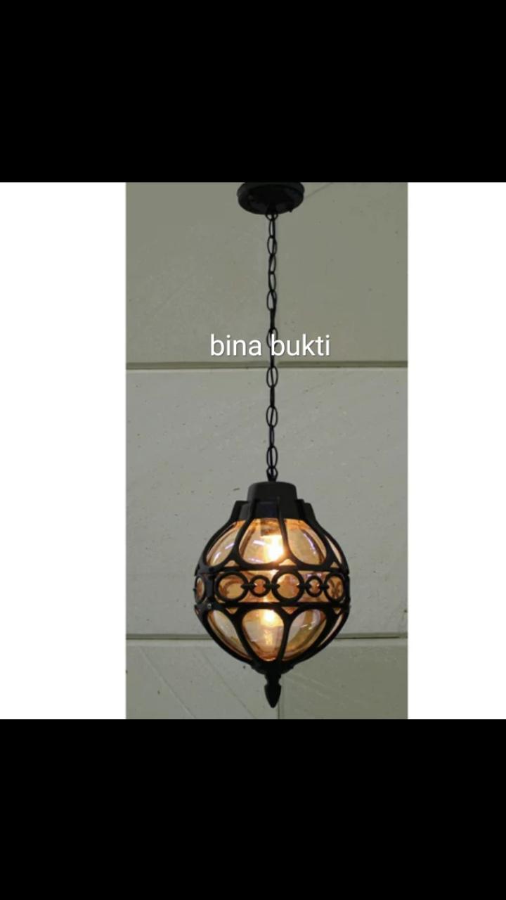 Lampu gantung minimalis unik
