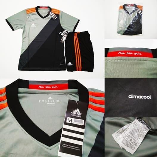 ORI Jersey Bola / Futsal (Cocok Untuk Kaos Tim) ADGO.01 GREY