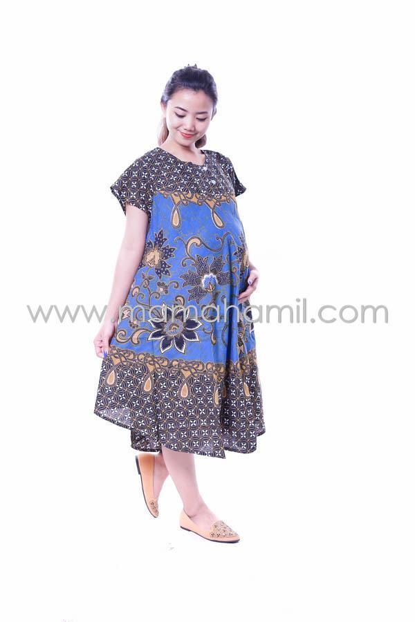 Ning Ayu Baju Hamil Daster Jumbo Payung Batik Cantik - DS 307