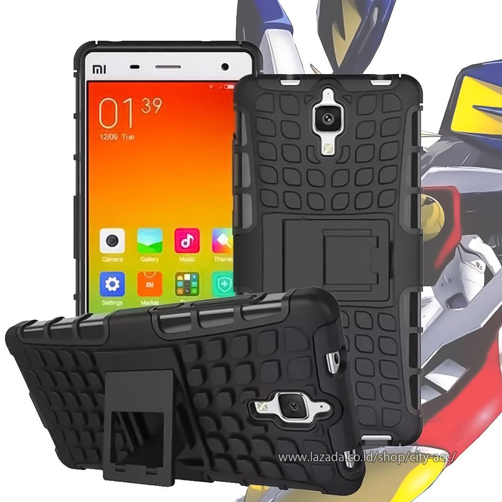Case for Xiaomi Mi 4 Robotic Rugged Armor With Kickstand