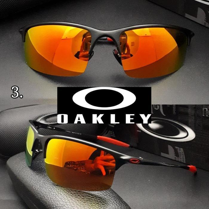 Sedang Diskon!! Kacamata Oakley Halfayer Sunglasses Polarized - ready stock