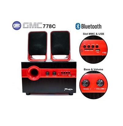 Speaker Aktif GMC TECKYO 778C Extra Super sound Bluetooth