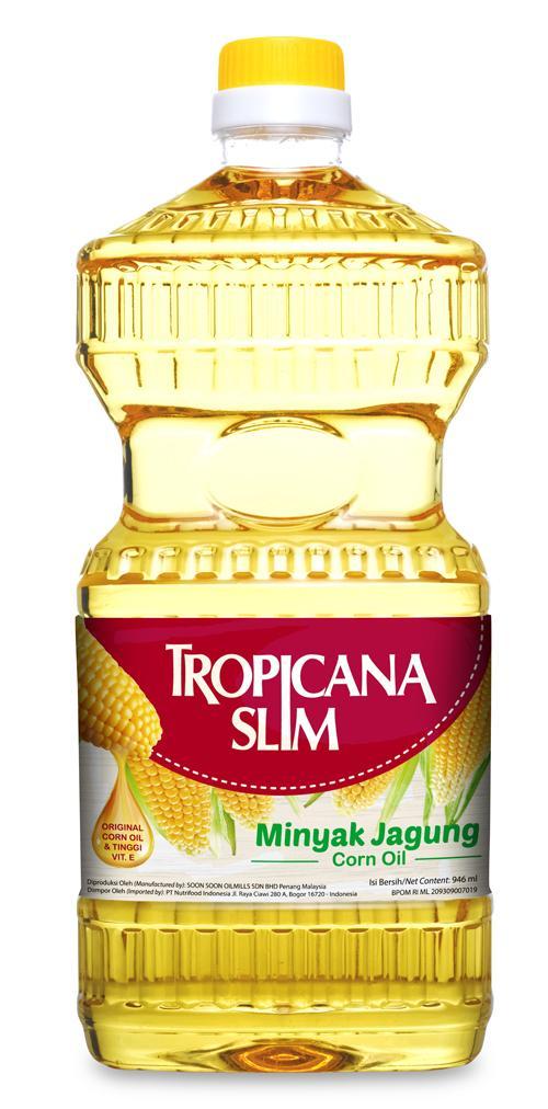 Tropicana Slim Minyak Jagung (Botol 946ml) - JABODETABEK ONLY