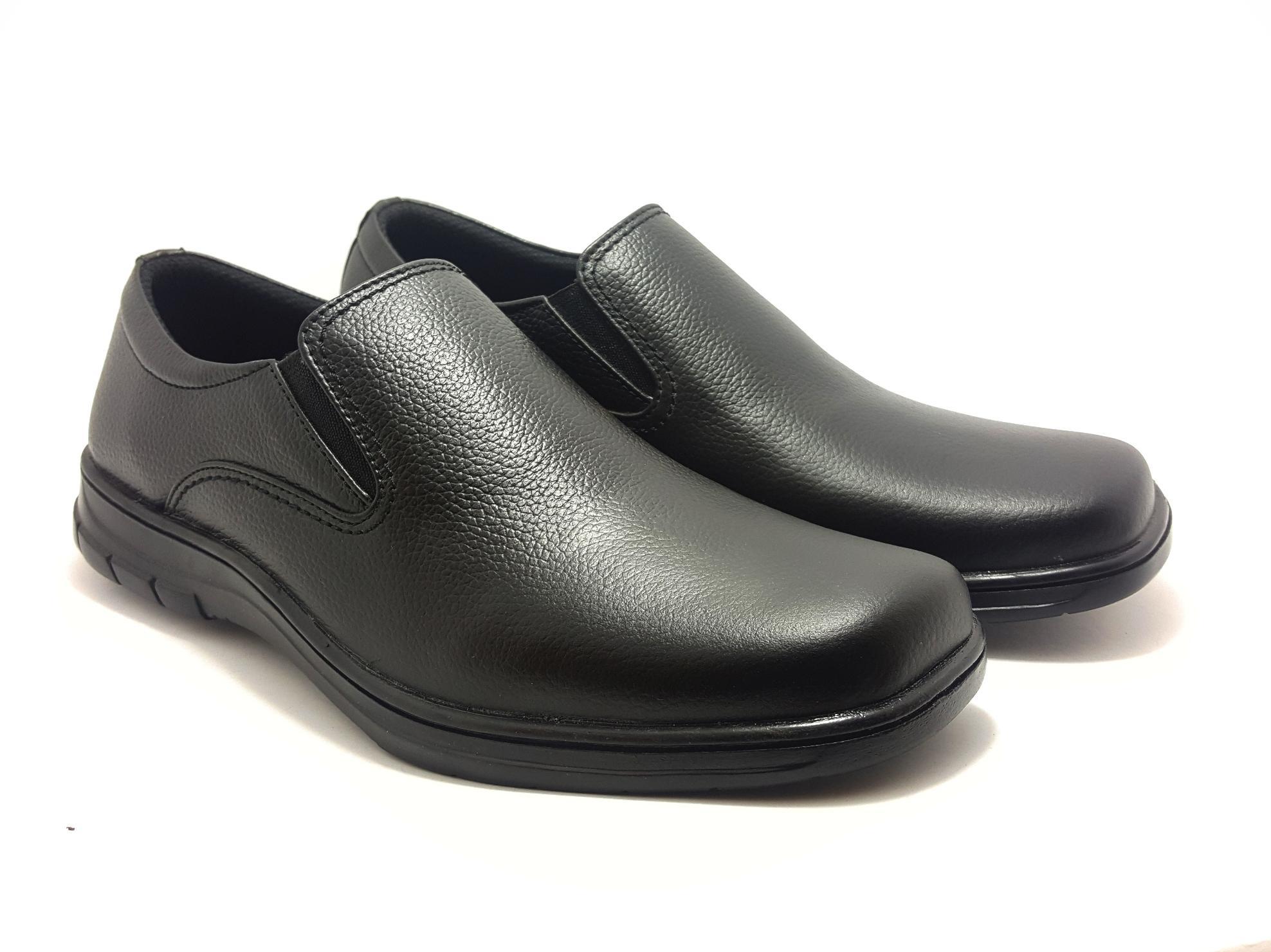 Sepatu Pria Kulit Asli Model Simple Cocok Untuk Berangkat Kerja Dan Acara Formal