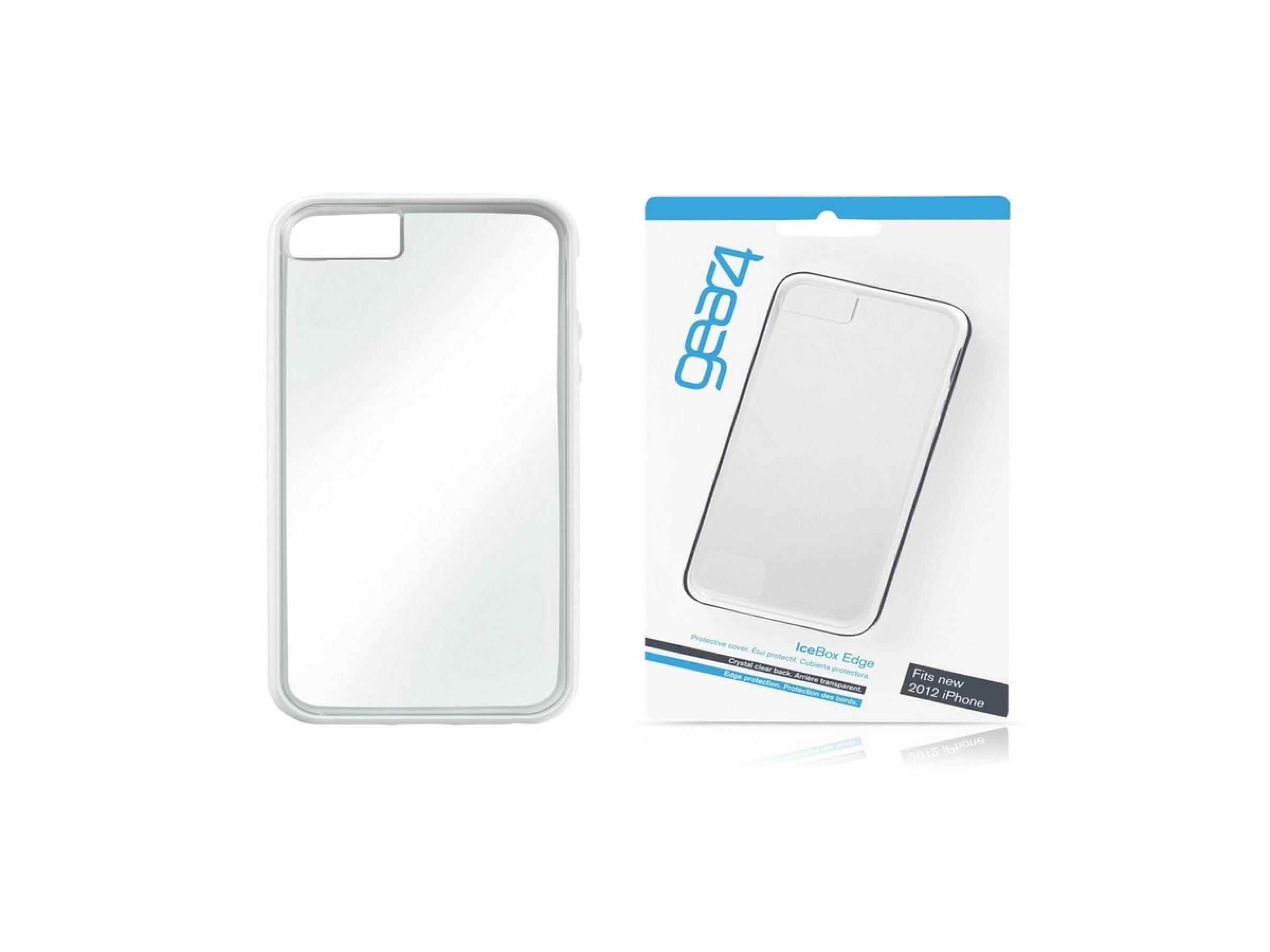 Gear4 iPhone 5 IceBox Edge - White [Packing Rusak]