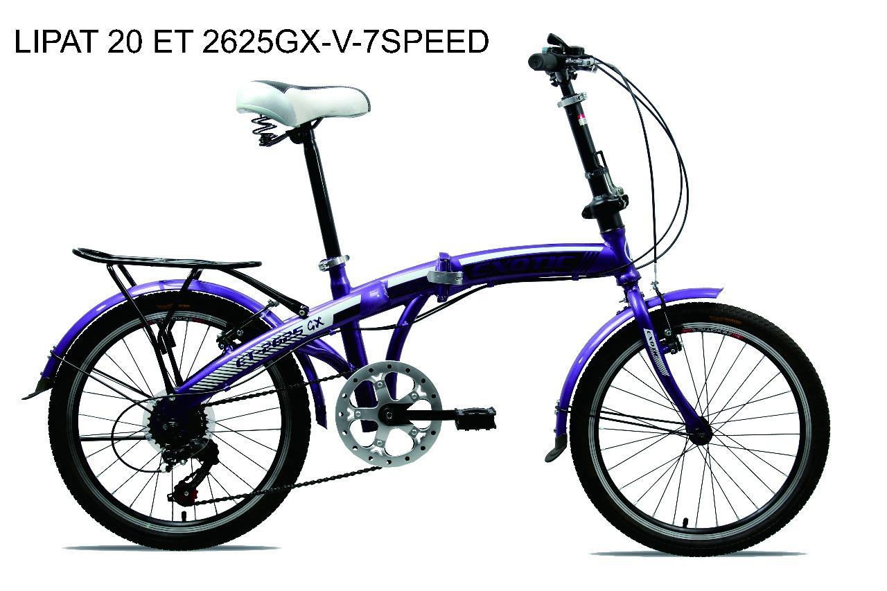 Sepeda Lipat Exotic 20'