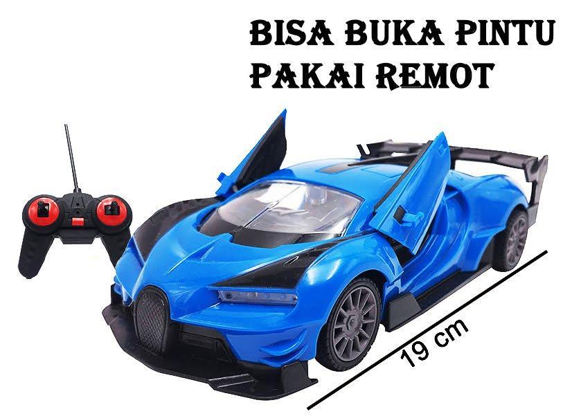 RKJ Mainan Anak RC Mobil Remot Racing Top Speed Buggati Buka Tutup Pintu  Dari Remot ( 0cce141ecd