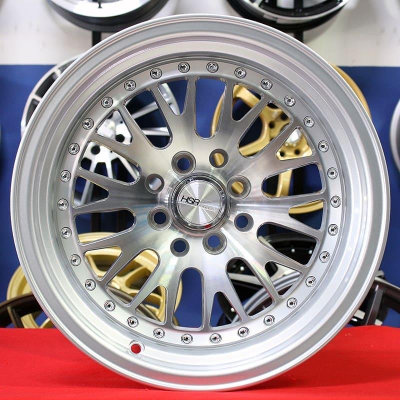 Velg Mobil Racing R15 HSR Classic L125 murah model celong dan belang