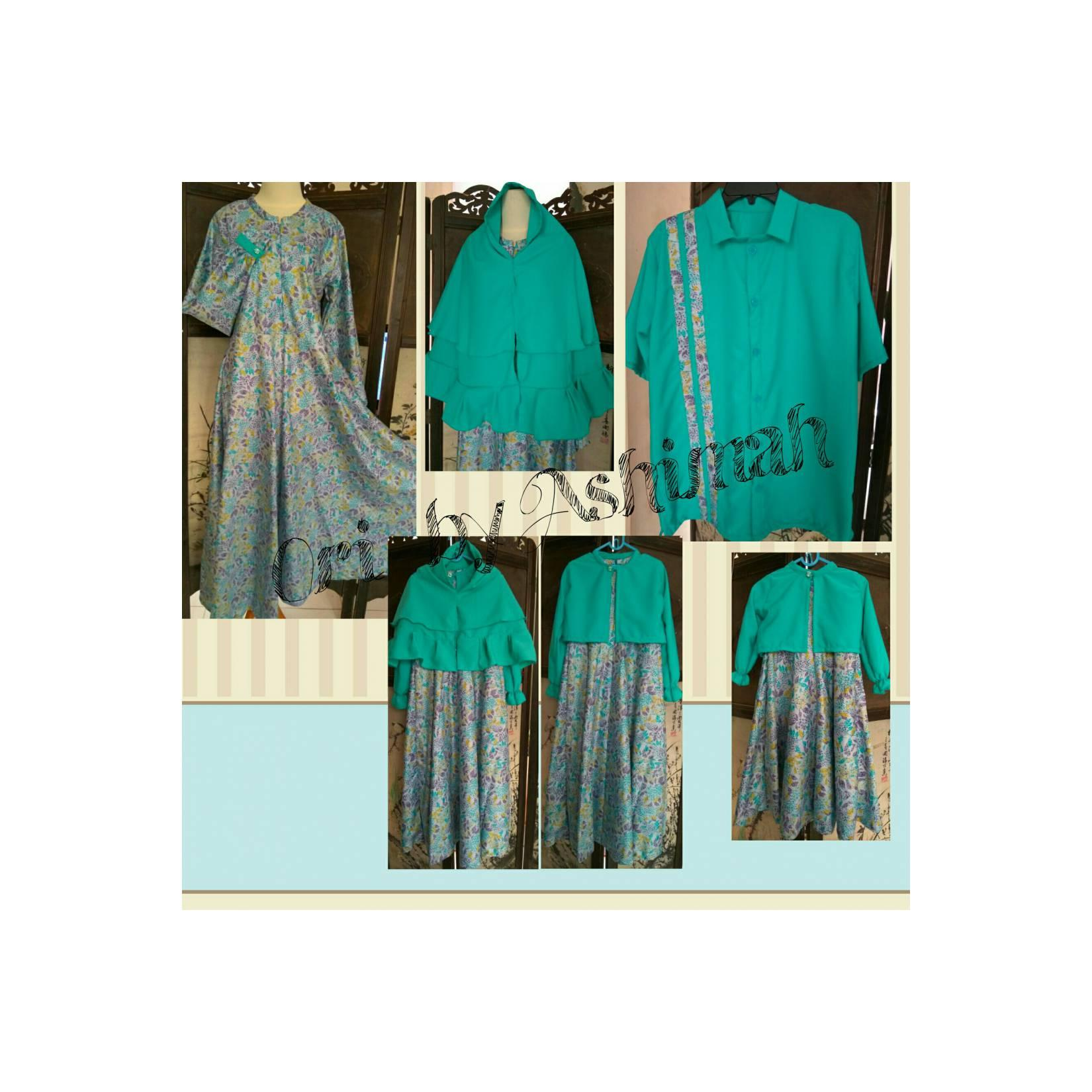 Gamis set. H&W plus kids with bolero