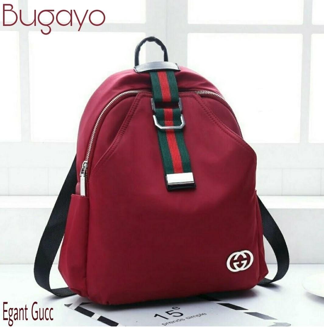 Rp 53.910 DoubleC Fashion Backpack Bugayo / Tas Wanita /Backpack / Ransel / Tas Anak /Tas ransel ...