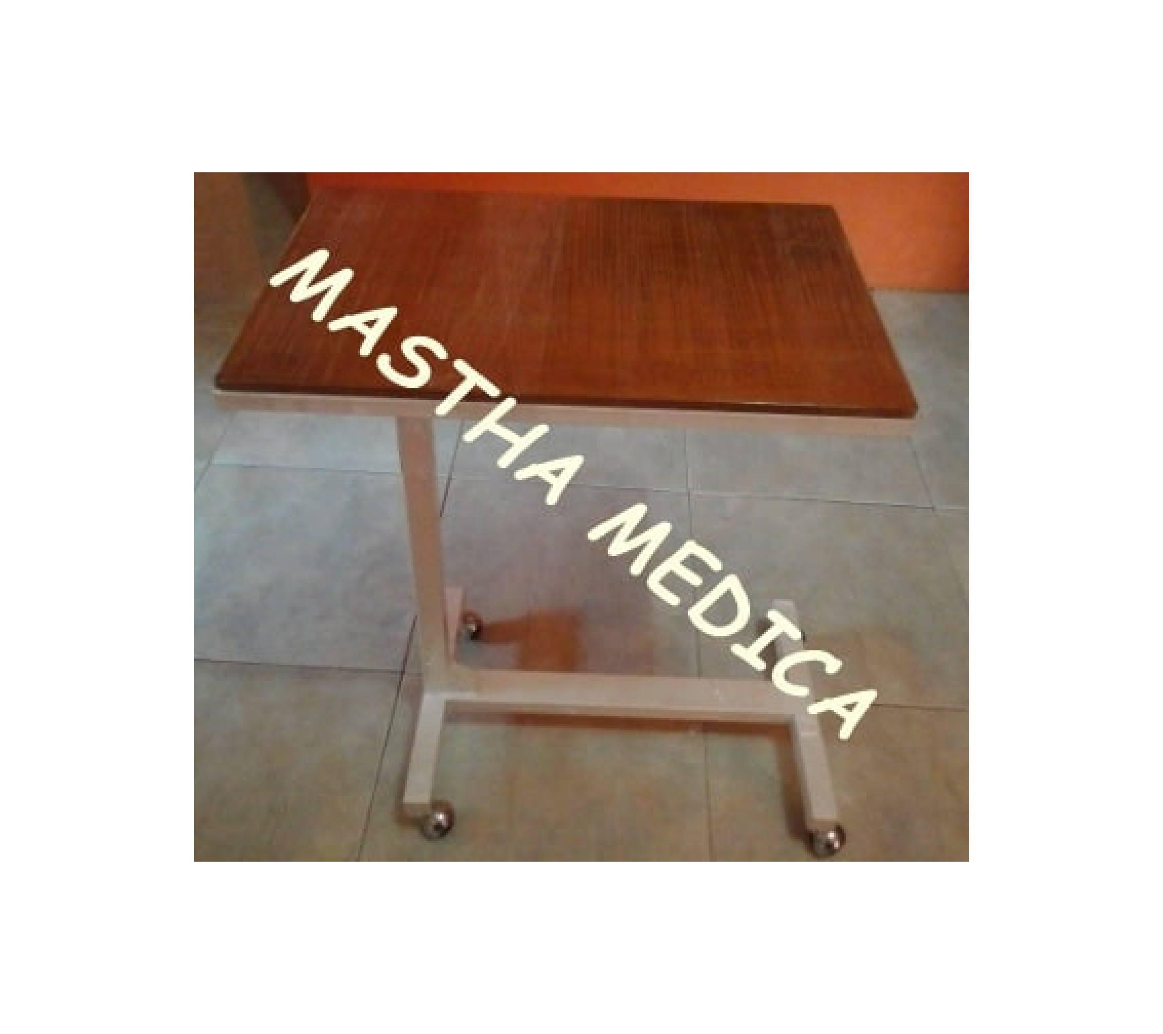 Meja Mayo Kayu Over Bed Table Meja Makan Pasien Rumah Sakit Meja Barng