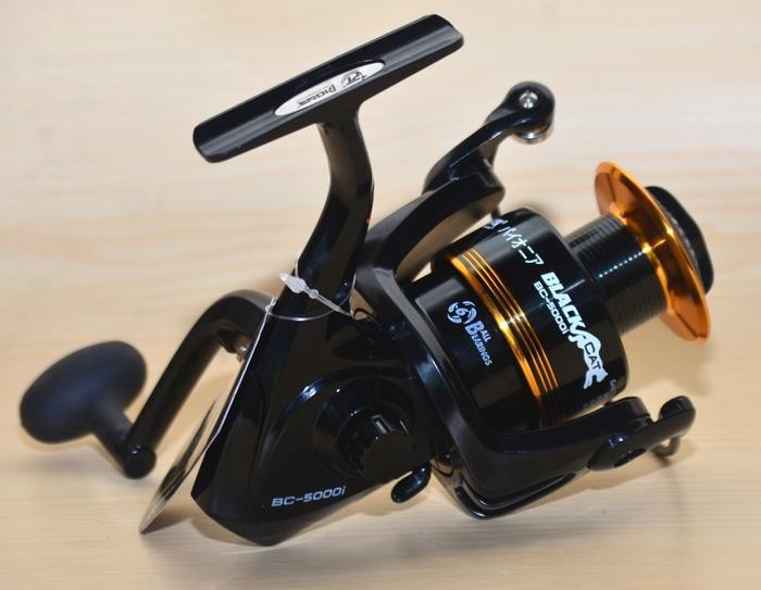Spinning Reel Pioneer black cat 5000i
