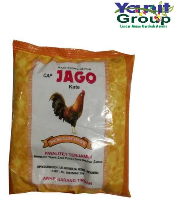 Ragi Tempe Inokulum Tempe Cap Jago 1 Paket 5 Pack
