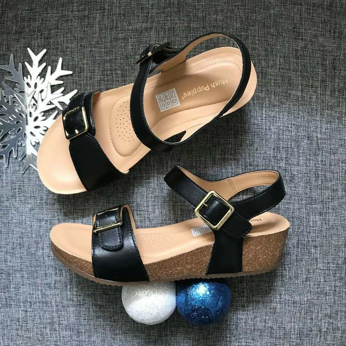 SEPATU SANDAL WANITA HUSH PUPPIES ORI MURAH / SALE HUSH PUPPIES WEDGES