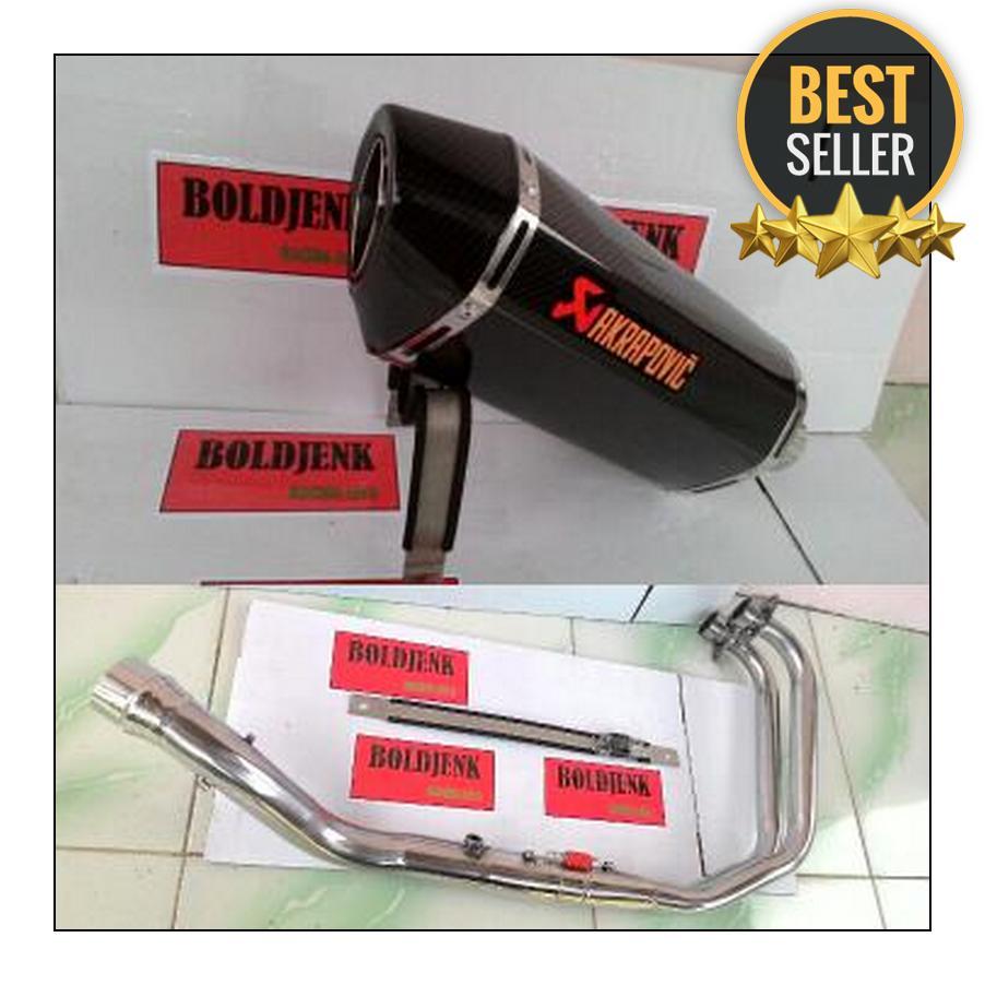 Buy Sell Cheapest Knalpot Mt25 Best Quality Product Deals Prospeed Black Series Yamaha R25 Mt 25 Slip On Racing Akrapovic Carbon Fullset Dll