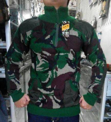 Best Top Seller!! SWETER LORENG TNI - ready stock