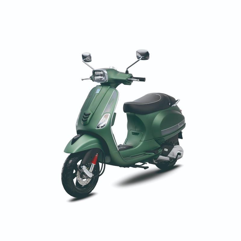 Vespa Piaggio S 125 i-Get Verde Matt - Depok