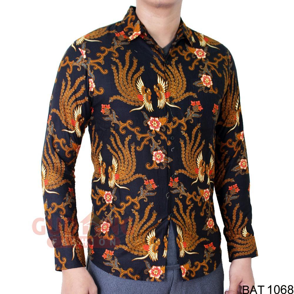 Gudang Fashion - Batik Modern Panjang Modis Model Slimfit