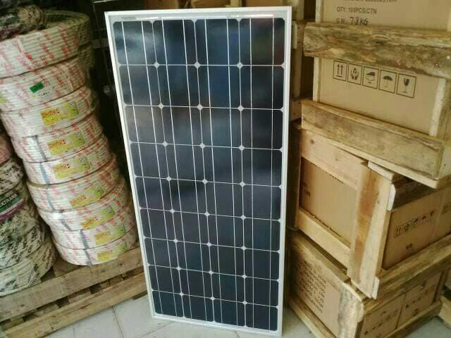 Promo  Solar Panel / Solar Cell / Panel Surya Solarland 100wp Mono  Original