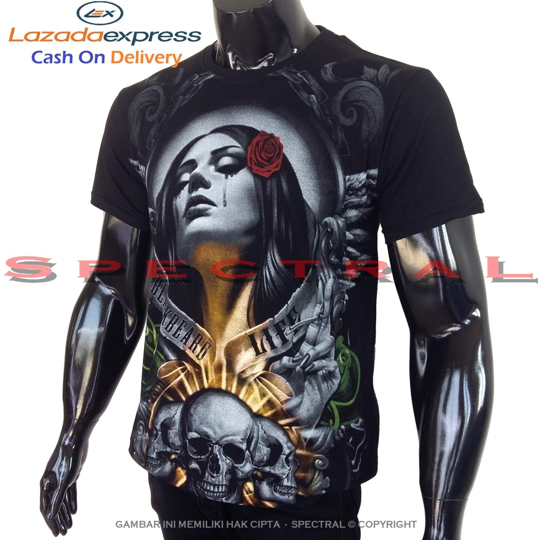 Spectral – WANITA DOA 100% Cotton Combed 30s Kaos Distro Fashion T-Shirt Atasan Terbaru Baju Pakaian Polos Pria Wanita Cewe Cowo Lengan Murah Bagus Keren Jaman Kekinian Jakarta Bandung Gambar Animasi Lukisan Seni Kegelapan Horor Seram Sexy Setan Gaib