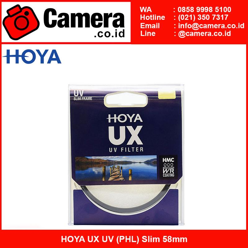 HOYA UX UV (PHL) Slim 58mm - Filter lensa