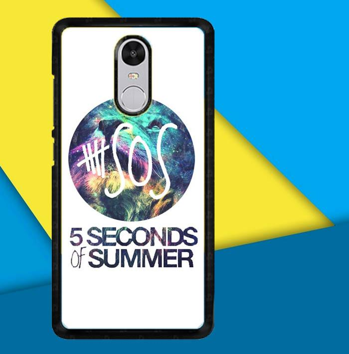 5 Second of Summer G0064 Casing Custom Hardcase Xiaomi Redmi 5 Case Cover