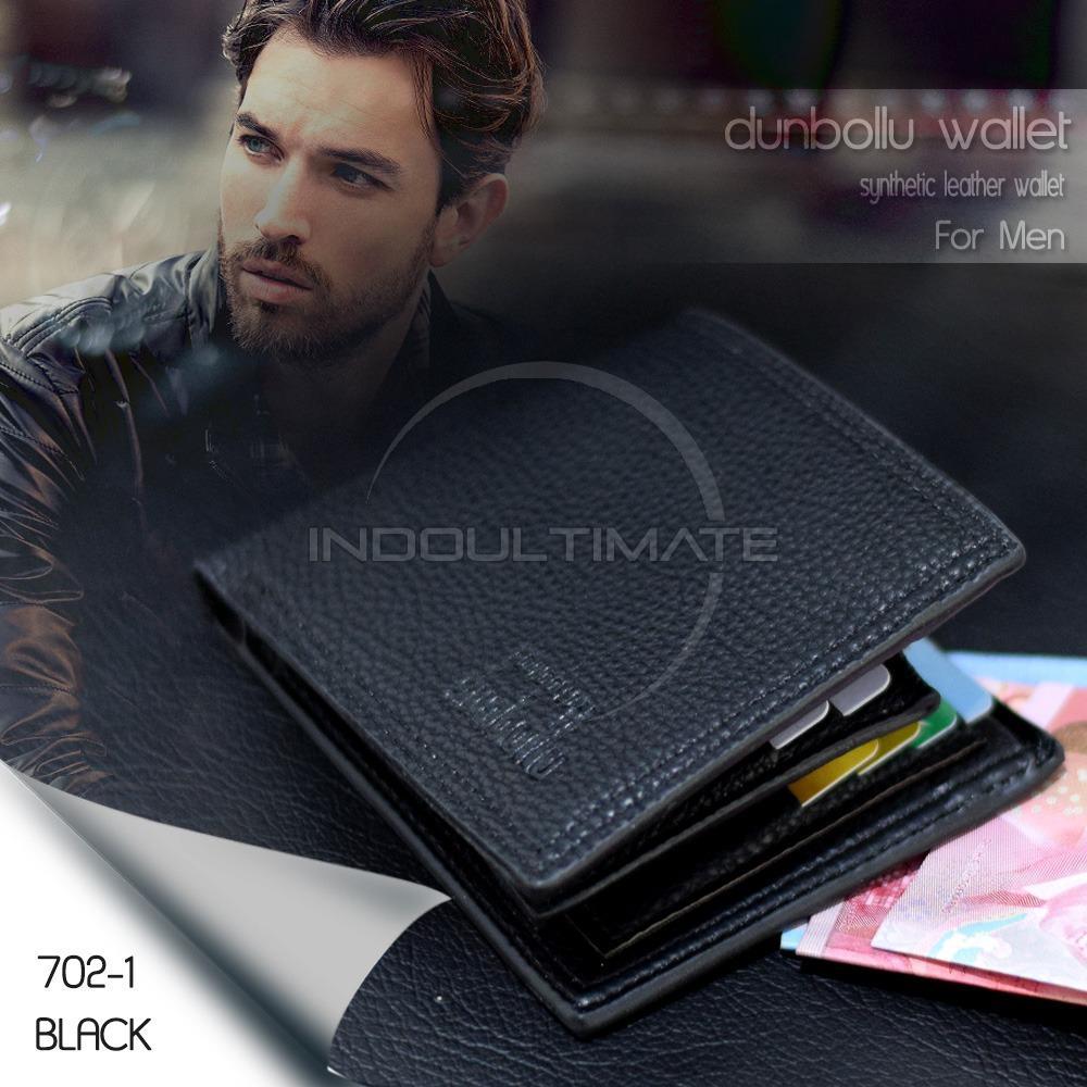 ULTIMATE DOMPET Pria FS 70201 - Black / Dompet Cowok Kartu ATM Panjang Kulit Lipat Import Murah