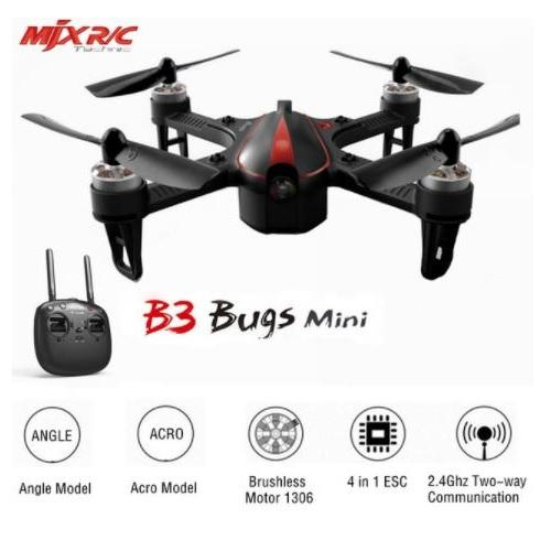 Drone Mjx Bugs 3 Mini Brushless Acro and Angle Mode 7.4V 850mAh 45C