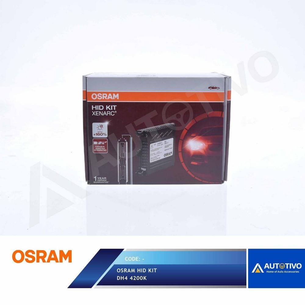 Lampu Mobil HID Osram Xenarc Conversion Kit H4 4200k