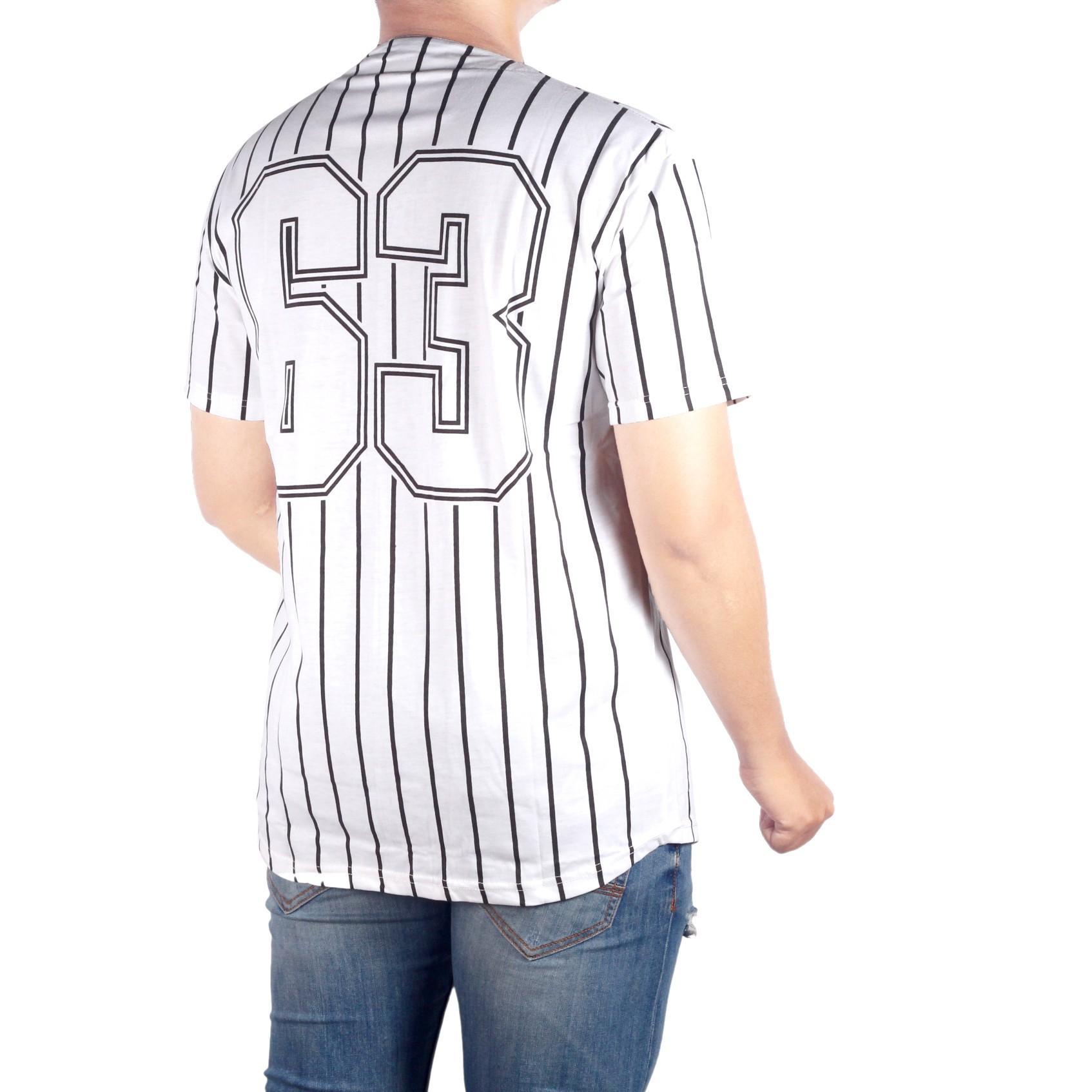 Dgm_Fashion1 baju kaos Distro BASEBALL Putih/ Baju Kaos Distro Baseball Hitam dan Putih/Kaos DIstro/Kaos Pria/Kaos Oblong/Kaos Men/Kaos Young Lex/Kaos YOGS/Kaos Swag/Kaos Murah/Kaos COMBED/Baju Distro NS 5711