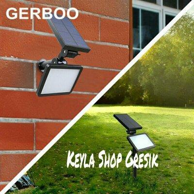 Lampu sorot dinding Jalan taman teras rumah tenaga surya matahari Water proof Sensor Keamanan Spot 48 led Solar cell lamp garden
