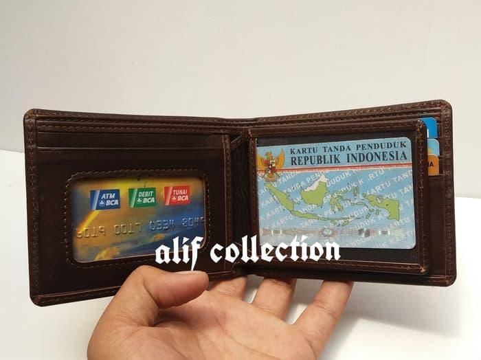 promo termurah dompet kulit asli,dompet kulit garut,dompet, - Hitam