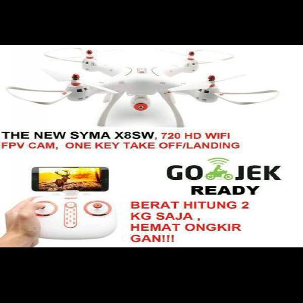 drone Syma X8SW FPV WIFI quadcopter foto aerial altitude hold X8C X8W syma X8HW X8 SW wltoys dji phantom cheerson hubsan airfun yuneect gopro xiaomi yi b-pro sjcam action cam drone mainan