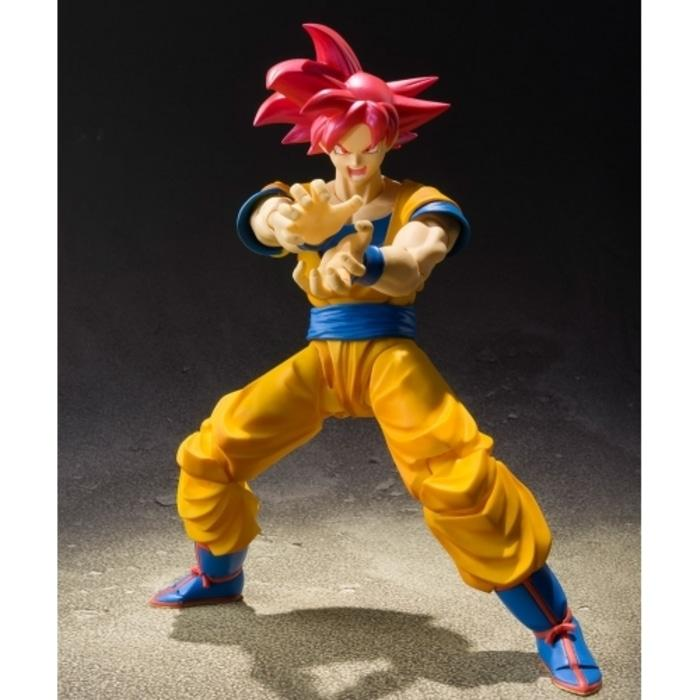 Diskon 10%!! Bcl Shf Son Goku Gokou God Asia Ver With Box Coklat Tamashii Limited - ready stock