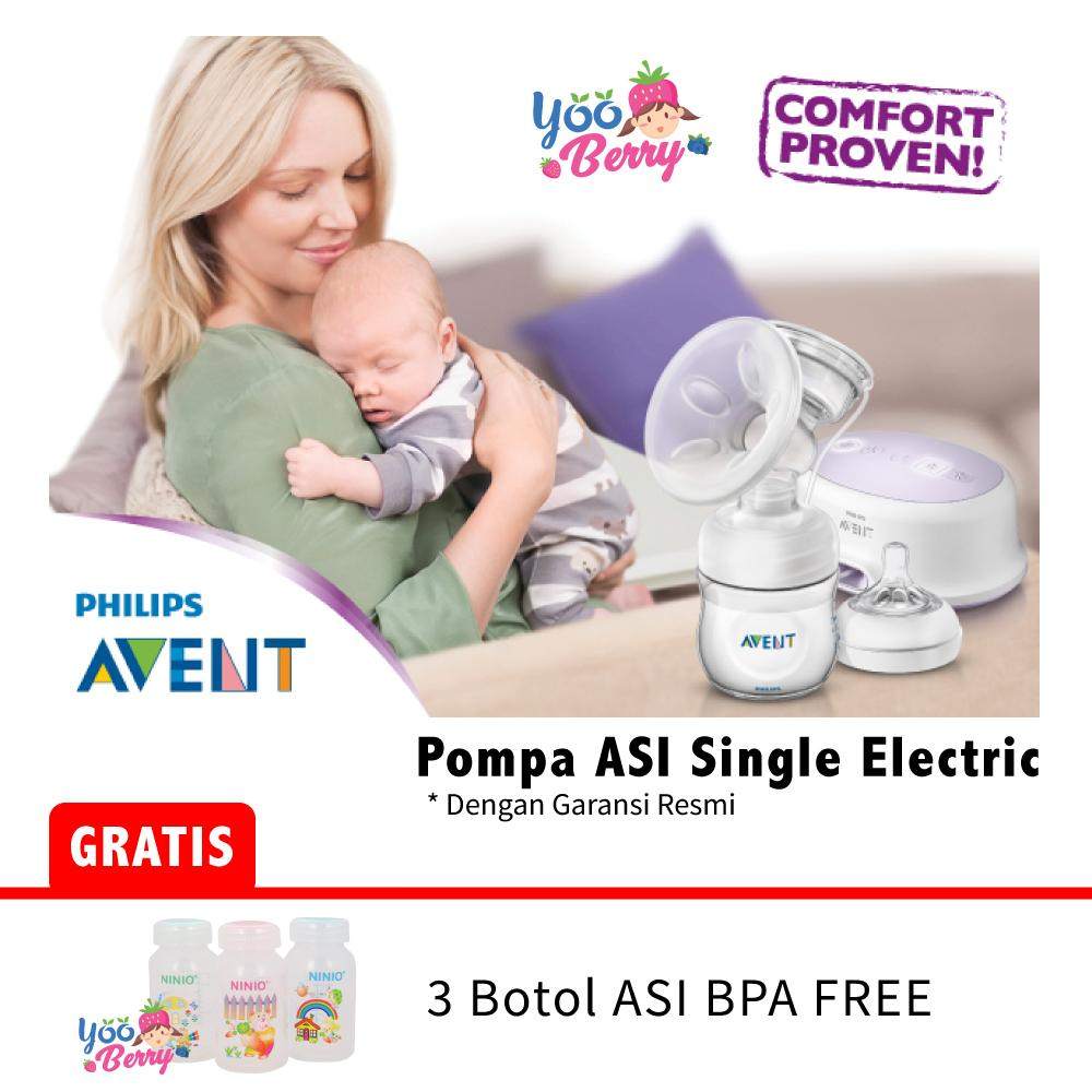 Jual Pompa Asi Philips Avent Terbaik Breastpump Comfort Single Electric Scf332 01 Elektrik New Putih Yooberry Natural Garansi Resmi
