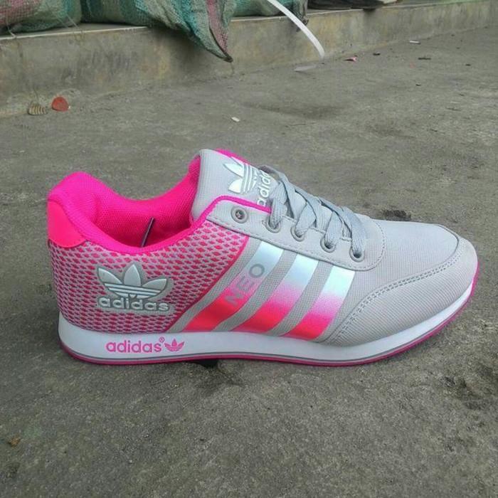Promo Sepatu Wanita Adidas Neo Zumba/Senam Erobick Gratis Ongkir