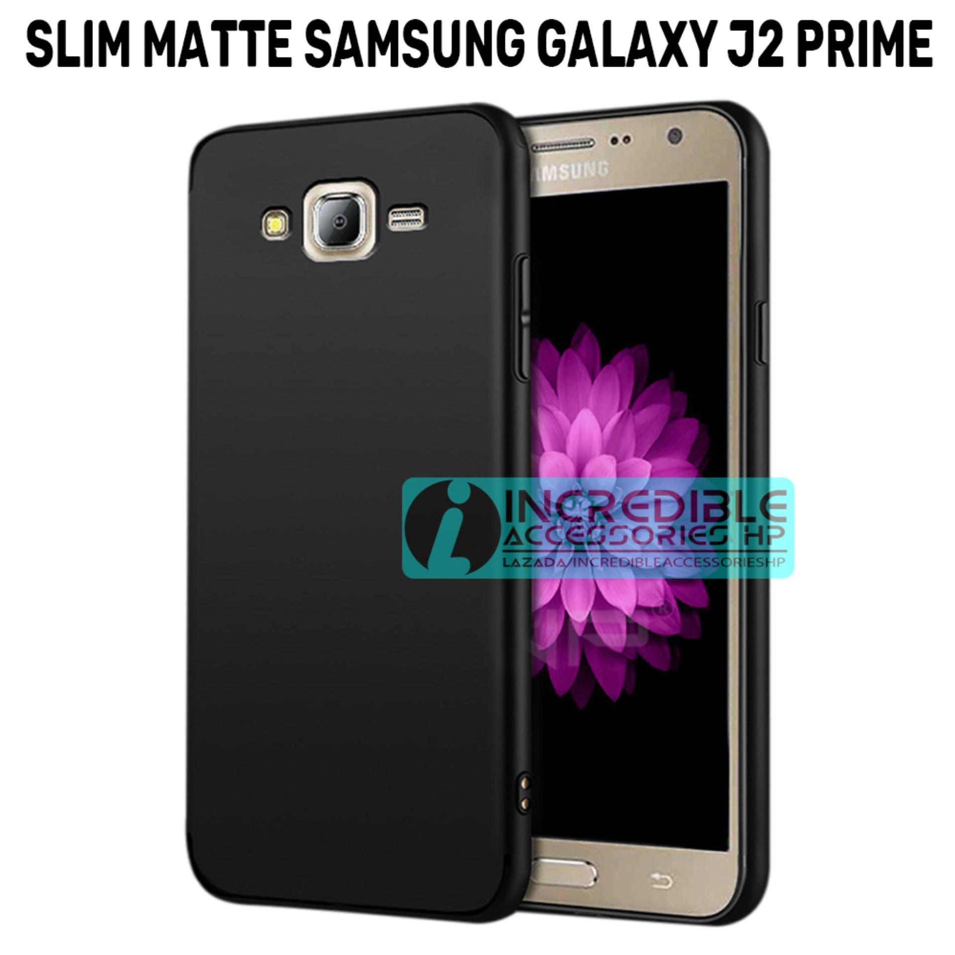 Anti Fingerprint Ultraslim Hybrid Case Baby Soft Babby Skin Softase Silicon Matte  for Samsung Galaxy J2 Prime - Black