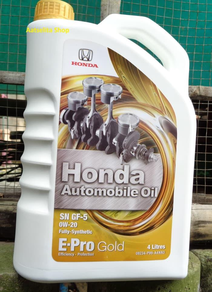 Oli Mobil Epro Gold Sae 0w-20 SN GF-5 Full Synthetic 4liter