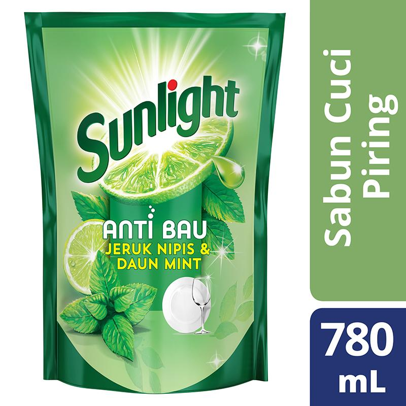 Sunlight Daun Mint Refill 800ml