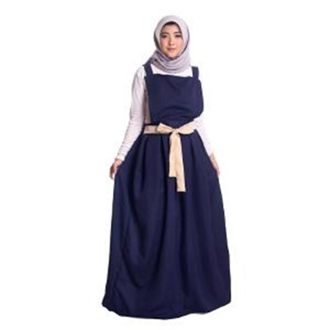 Baby Talk Club Yura Maxxi Overall Wanita Only Overall Tanpa Inner - Baju Atasan Wanita Overall Wanita Muslim Bahan Balotteli Baju Muslim Wanita Dress Lebaran Pesta Kondangan Gamis Super Murah Untuk Remaja Overall Muslim Kekinian Hits