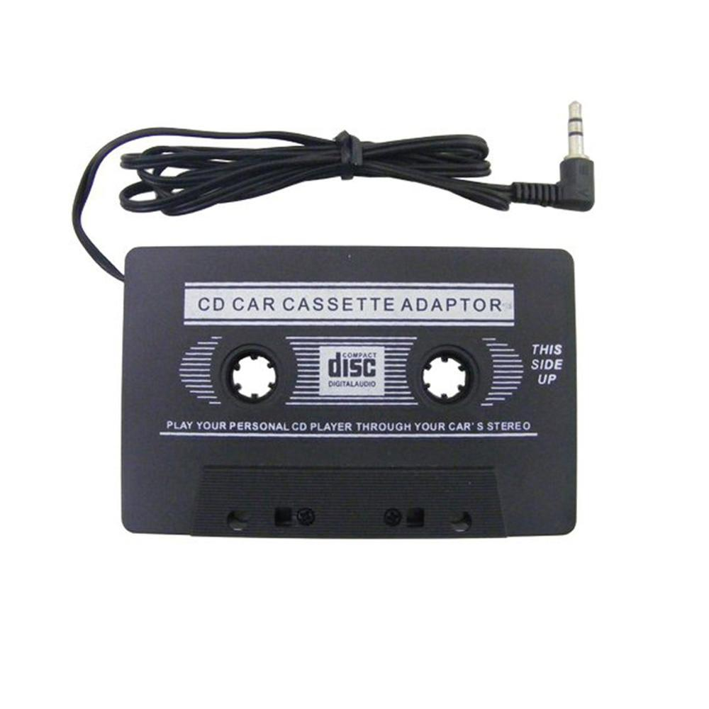 CD Car Audio Cassette Converter Kaset Adaptor MP3 MP4 Digital Pita Tape Adapter Aux Mobil Stereo Jack 3.5Mm