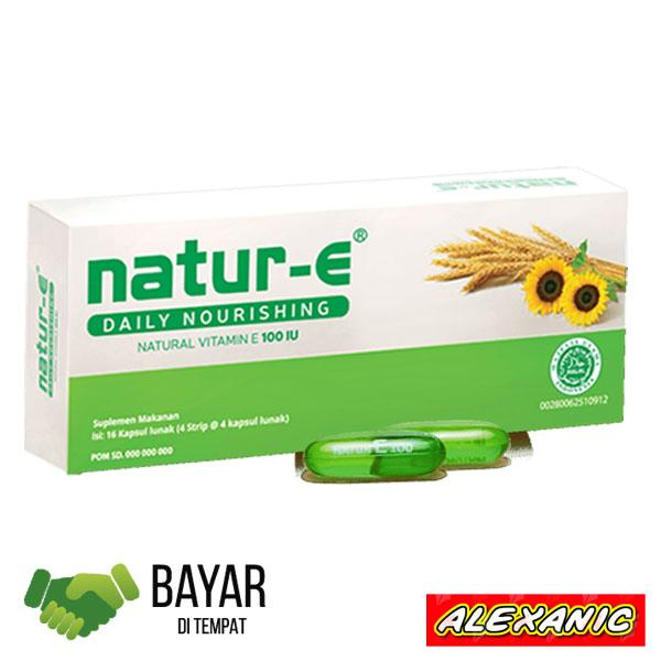 Natur-E / Natur E Natural Vitamin E 100 Iu - 16 Kapsul Daily Nourishing By Alexanic.