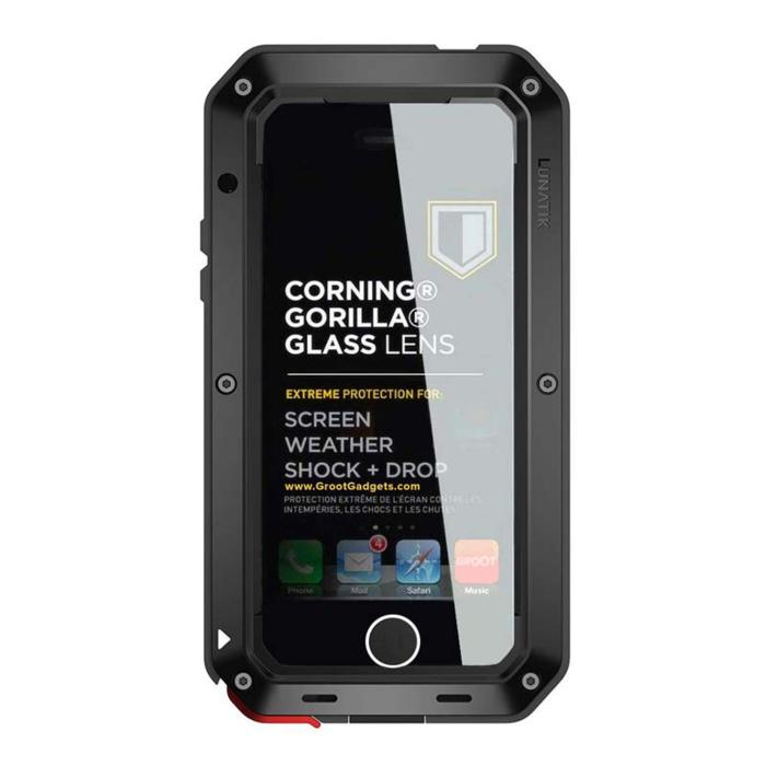 Lunatik Hard Case Taktik Extreme iPhone 4G - Hitam