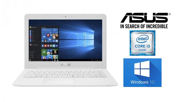 ASUS X441UA-WX324T - RAM 4GB - Intel i3-6006U - HDD 1TB - 14 Inch - Windows 10 - White