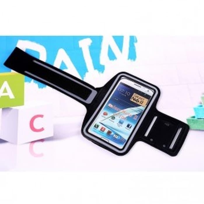 HARGA DISKON!!! Neoprene Sports Armband Case with Key Storage for Samsung Note 2/3 - Pb5dpE