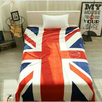 Harga preferensial Selimut Motif Bendera England (inggris) 3D Kualitas Import ukr 150x200 beli sekarang