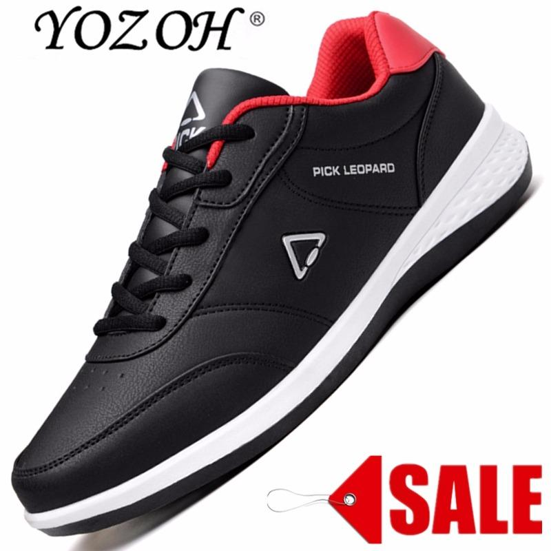 YOZOH Mode Musim Panas Sepatu Pria Udara Mesh Sepatu Kasual Ringan Bernapas  Slip-On Flat 320faad931