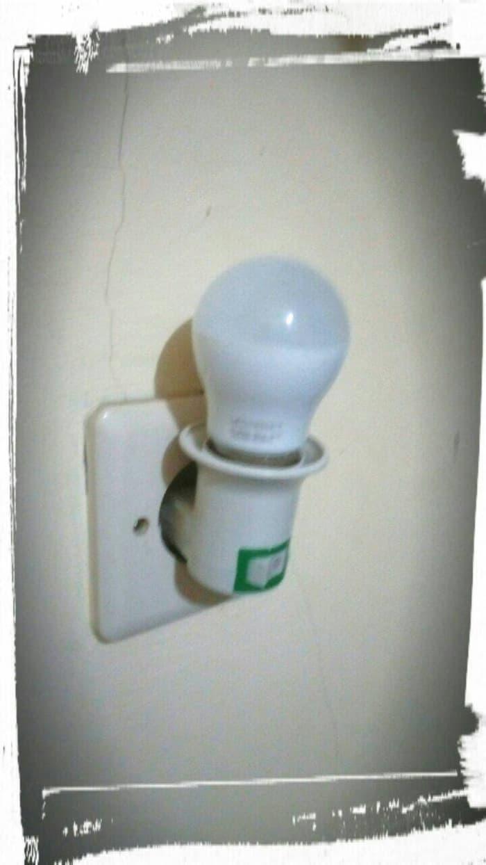 Paket Lampu Tidur Led 2w Kualitas Philips Fitting Colok