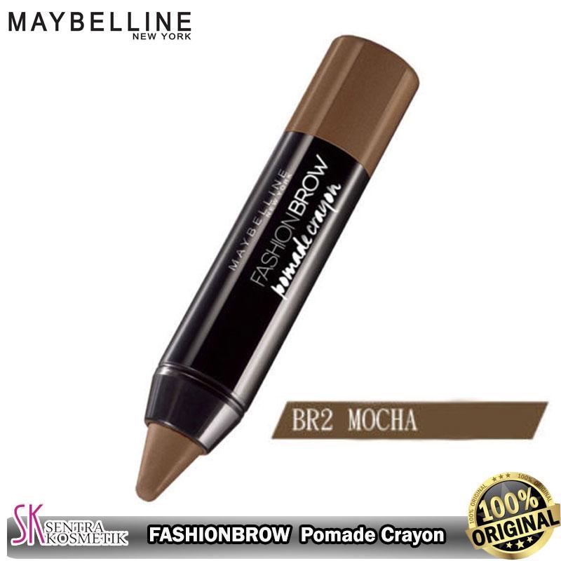 MAYBELLINE Fashion Brow Pomade Crayon BR2 - Mocha